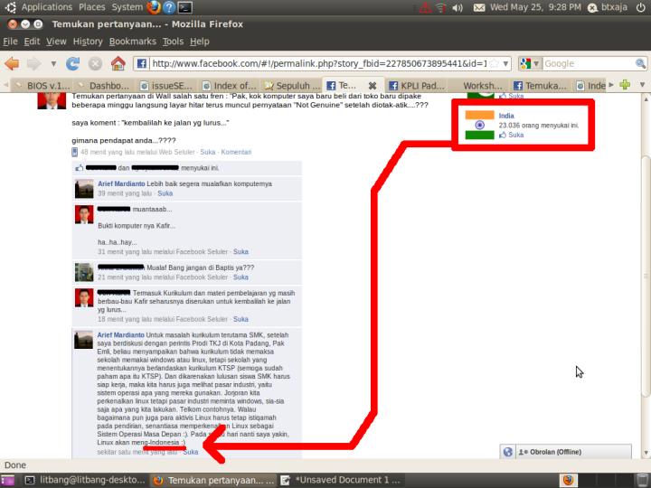 Sense of Facebook