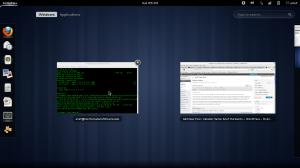 Desktop Fedora 17
