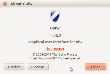 About Gufw