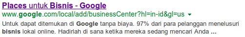 Link Google Place for Business