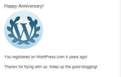 Sudah 4 Tahun nge Blog