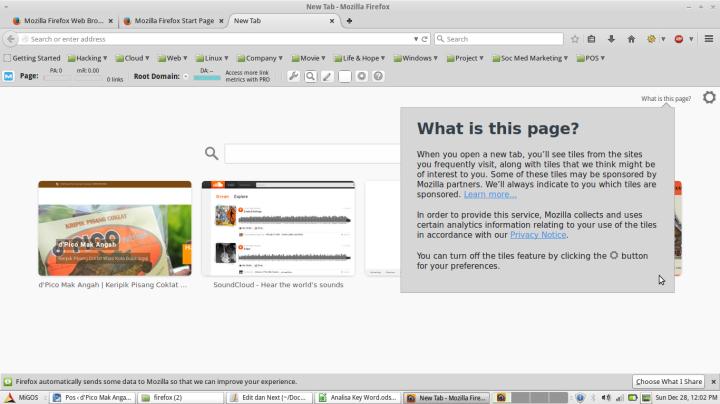 Tampilan Mozilla Firefox 34.0.5