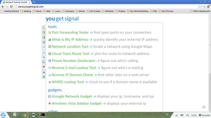 YouGetSignal.com
