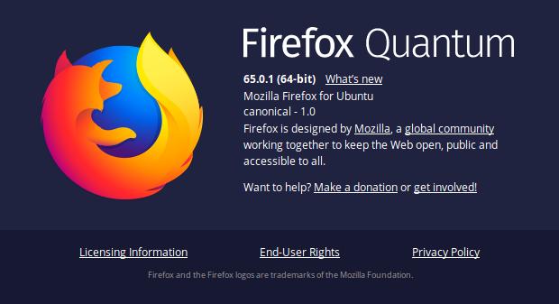 Mengaktifkan fitur DNS tersembunyi pada Mozilla Firefox Quantum